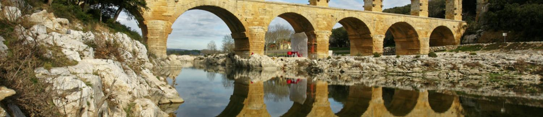 Découvrez le Pont du Gard près de votre hôtel l'Esquielle