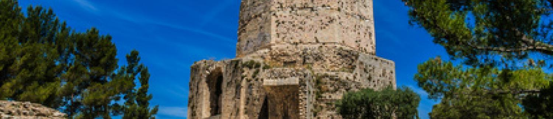 Découverte de la Tour Magne et des jardins de la Fontaine